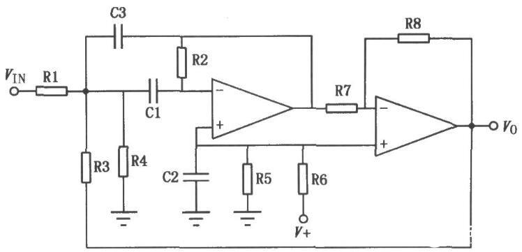 电源通用型双运放电路图