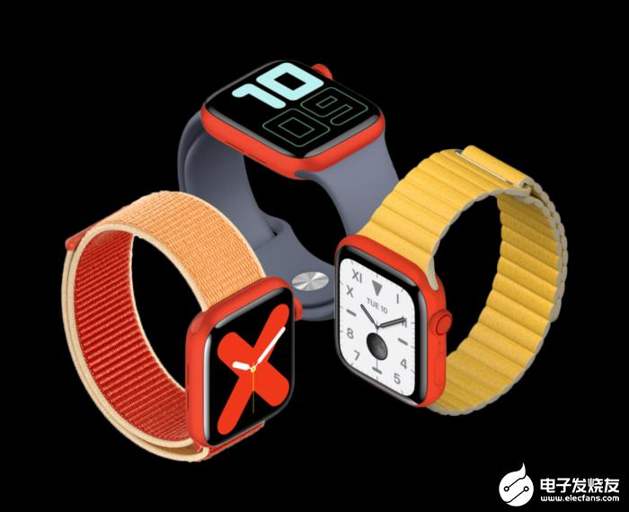 苹果或在明年针对中国市场推出红色特别版Apple Watch Series 5