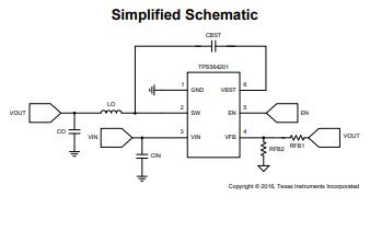 TPS564201同步降压稳压器的数据手册免费下载