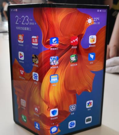华为计划在2020年∮下半年推出下一代Mate X可折叠�屏智能手机「