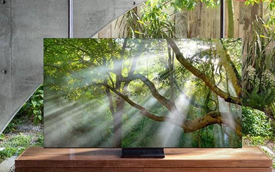三星無邊框8K電視真的來了