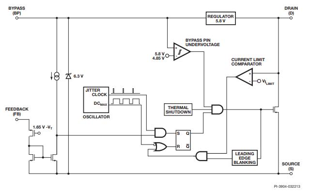 LNK302和LNK304与LNK306链接开关TN系列芯片的数据手册免费下载