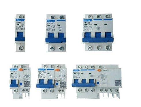配电箱如何配置空气开关和漏电保护器