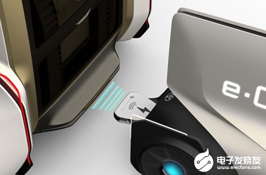 丰田推出了一款概念车型e-Chargeair 可为其他电动车型充电