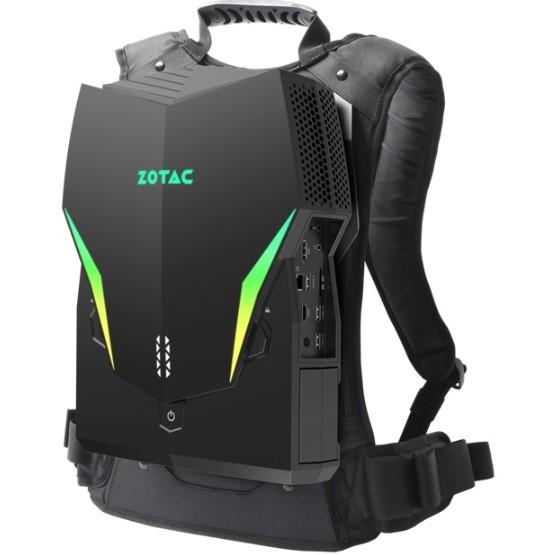 索泰VR GO 3.0背包PC发布,配置英伟达GeForce RTX 2070显卡