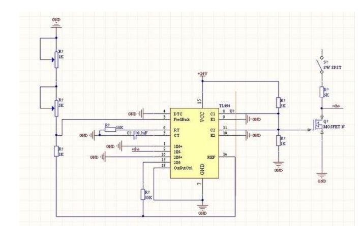 TL494开关电源PWM控制芯片的Multisim仿真资料免费下载