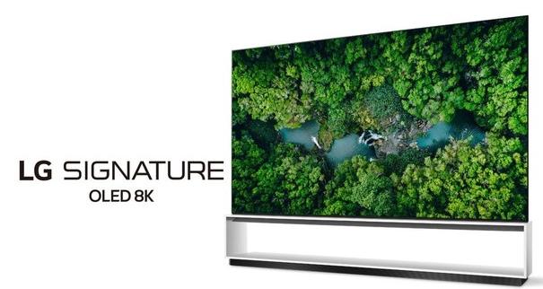 LG将推出八款8K型号的新款OLED电视