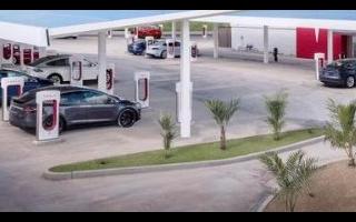 特斯拉预计国内新增4000个以上充电桩