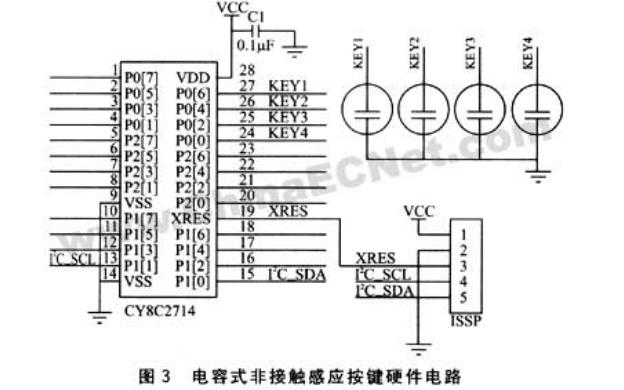 电容式感应开关原理与硬件电路设计的详细资料说明