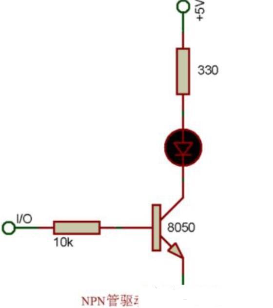 如何控10个led不同时间点亮