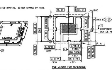 英特尔400系主板设计图纸曝光,将采用LGA12...