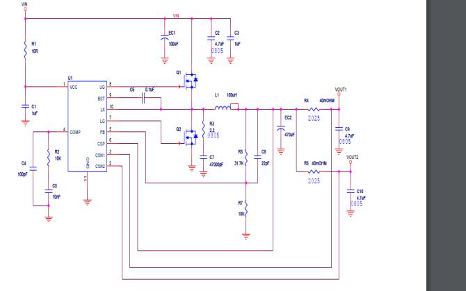 LY5V04同步整流降压型PWM控制器的数据手册免费下载