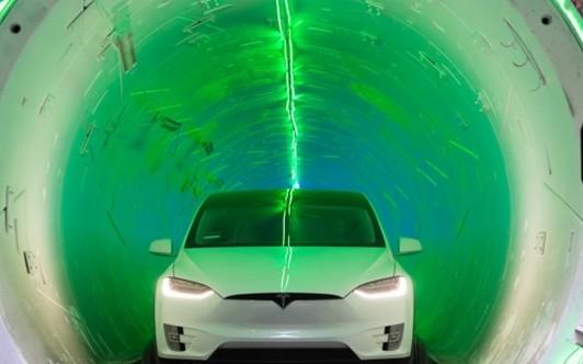 马斯克表示拉斯维加斯地下交通隧道将启用,时速可达...