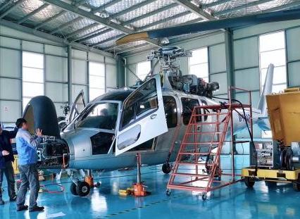 捷德航空的機型維修服務范圍已覆蓋了空客全系列直升機