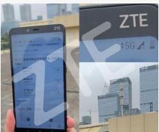 天津联通携手中兴通讯成功打通了基于5G智能手机终...