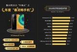 鲁大师2019年度手机流畅榜发布 华为Mate30 Pro 5G登顶