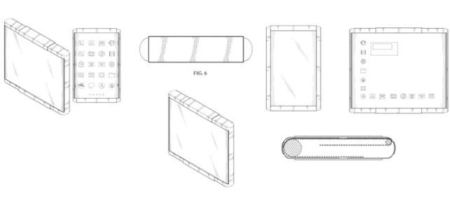 三星手机可伸缩屏幕专利曝光,设备具有左右可伸缩的显示器