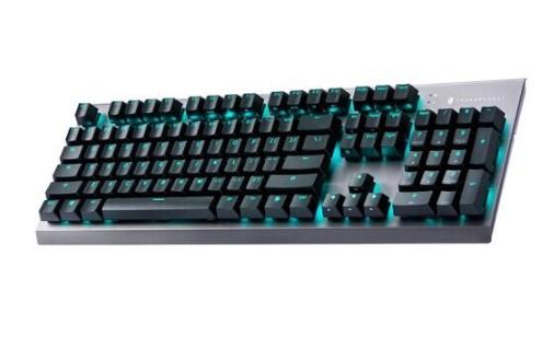 雷神推出KG5104机械键盘,采用悬浮式按键设计和具有10种预设灯光