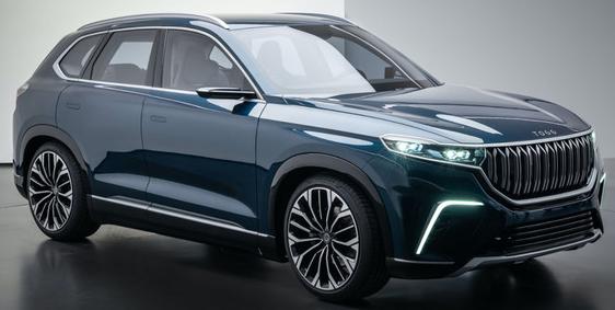 TOGG推出的两款新电动汽车曝光续航里程将不少于...