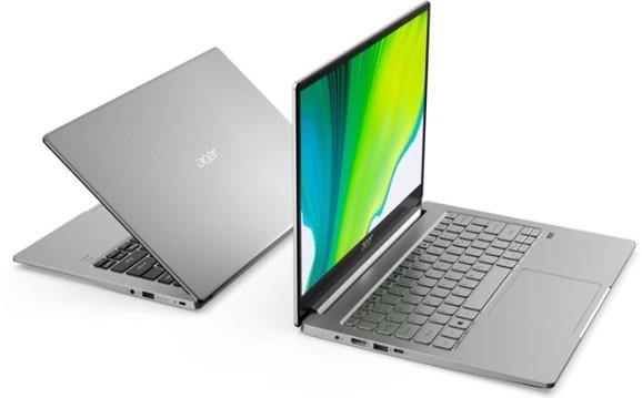 宏碁推出Swift 3笔记本,具有英特尔和AMD...