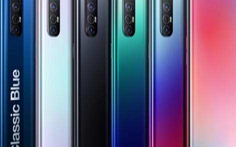 OPPO Reno3 5G手机系列轻薄亮相,7.7mm+171g超薄体验