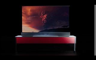全球首台!海信卷曲屏幕激光电视正式发布