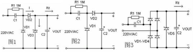 安规电容器降压原理_安规电容的应用电路