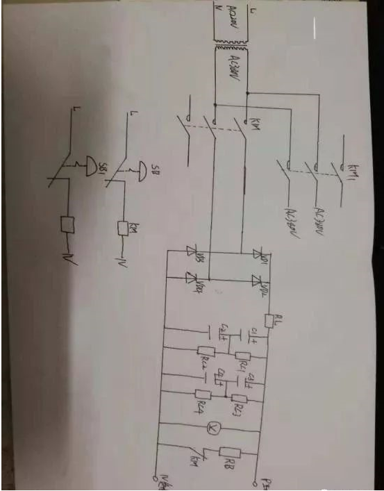 变频器维修电源制作方法