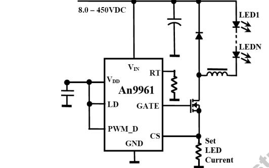 AN9961系列芯片的资料详细说明