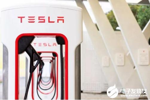 特斯拉V3超级充电桩 可以让电池以其能承受的最大...