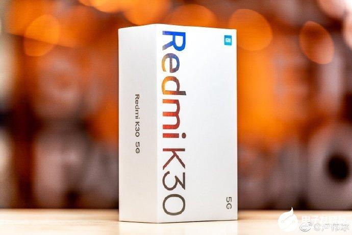 Redmi K30 5G手机30W疾速闪充,可实现30分钟充电61%