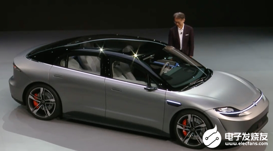 Vision-S电动自动驾驶轿车亮相 部署了多达...