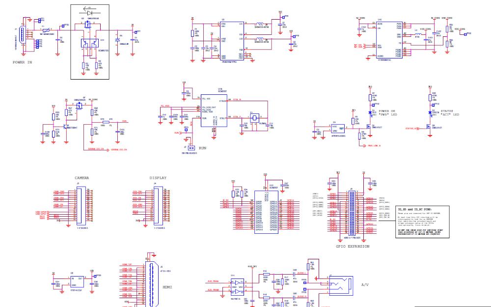树莓派Raspberry Pi 3 Model B的电路原理图免费下载
