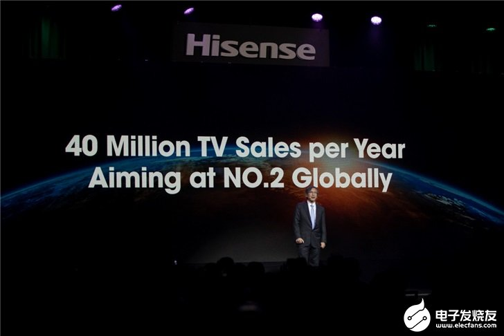 海信连发三款激光电视,预计2020年出货量4000万台