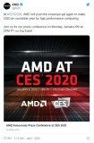 AMD官方表示2020年將成為高性能計算難以置信...