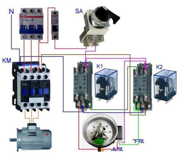 中间继电器和接触器有什么区别
