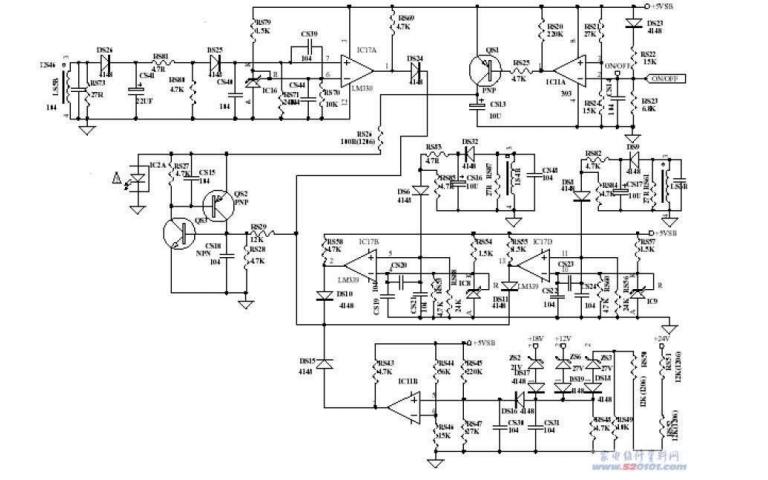TCL液晶电视开关电源板的维修实例详细说明