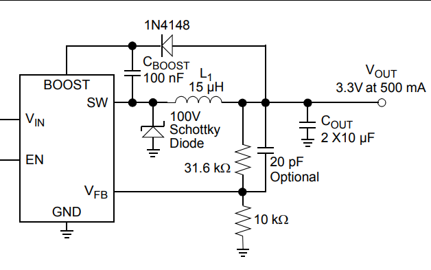 MCP16331高壓輸入集成開關降壓調節器的數據手冊免費下載