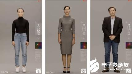 SAMSUNG新Neon项目亮相 人形AI聊天机器人能表达情感和智慧