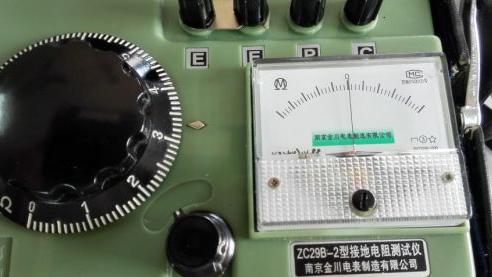 接地电阻测量仪的说明