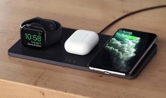 Satechi的Trio无线充电板解决了三款设备同时充电的难题