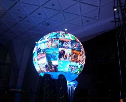 球形LED显示屏的制作方法解析