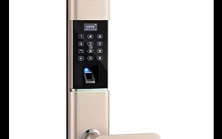 杨格锁业智能锁贝塔8号(T8)介绍