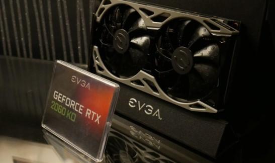 NVIDIA GeForce RTX2060 KO显卡展示,价格比AMD底
