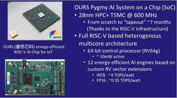 睿思芯科新推出基于RISC-V的64位可编程芯片
