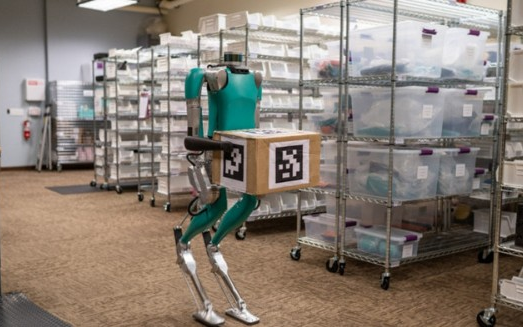 福特成为Digit机器人首位顾客,帮助商用车提高...