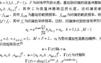 兩種頻偏估計算法的性能比較