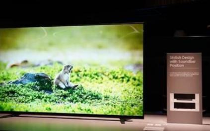 索尼黑科技来袭,新8K电视Z8H支持边框发声