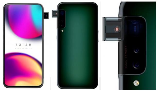 OPPO新专利曝光在手机侧面安装了弹出式摄像头