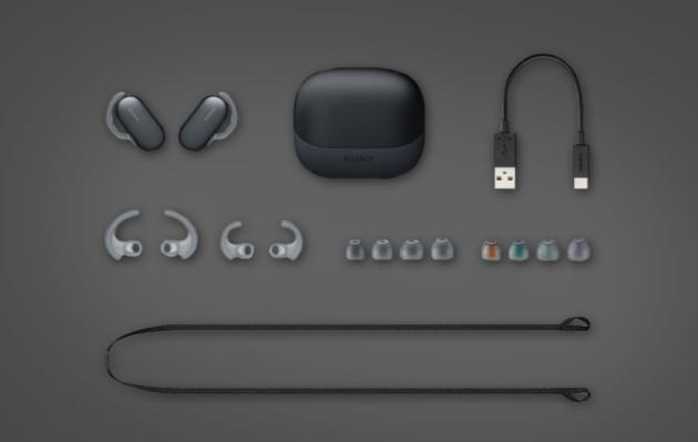 """索尼WF-SP900真无线蓝牙耳机 真正陪你""""下..."""